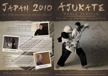 7. Dan Tatsu Ryu Bushido Mitorganisator der Japan-Reisen 2008 ...