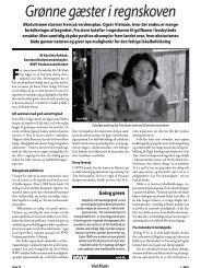 WWF: Grønne gæster i regnskoven - Dansk Vietnamesisk Forening