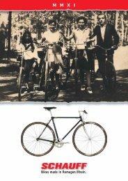 Katalog 2011 (2,1MB) - Fahrradfabrik Schauff