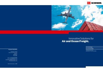 Innovative Solutions for Air and Ocean Freight. - DB Schenker ...