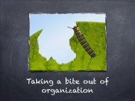 Organizing Your Student - Johnston Community School District