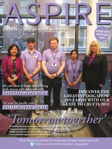Community spirit Listed properties - Aspire Magazine