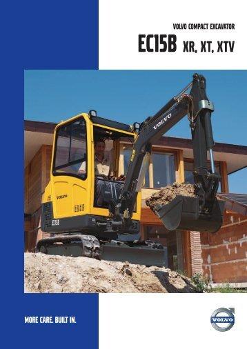 EC15B XR, XT, XTV - Volvo Construction Equipment