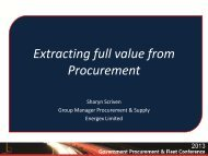Extracting Full Value from Procurement: Sharyn Scriven ... - Local Buy
