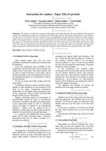 paper written in apa format