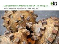 15.06.2013 - Die Geothermie-Offensive des EKT im Thurgau (2 MB)