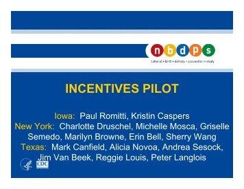 INCENTIVES PILOT