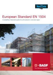 European Standard EN 1504 - Arcon Supplies