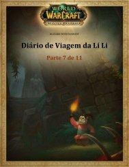Diário de Viagem da Li Li - Blizzard Entertainment