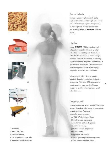 Katalog izdelkov - Ogrevanje na biomaso