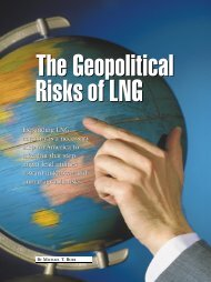 The Geopolitical Risks of LNG - Institute for the Analysis of Global ...