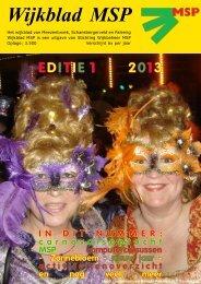 Wijkblad St. Wijkbeheer MSP, ed. 1, 2013 - Mijn MSP