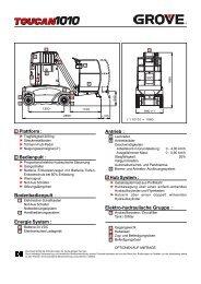 Plattform : Bedienpult : Bodenbedienpult : Energie System : Antrieb ...