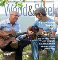 La gamme Taylor 2012 - Taylor Guitars
