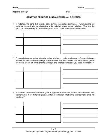Biologycorner Worksheet Answers on