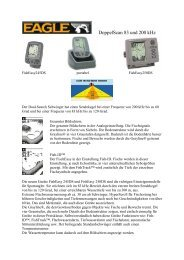 DoppelScan 83 und 200 kHz - clown-versand bootszubehör