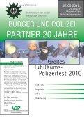 Großes Jubiläums-Polizeifest 2010 - bei Polizeifeste.de - Seite 2