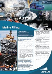 Marine Fitting (Engineering) - Austal Ships