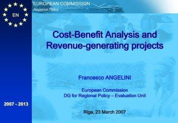 Cost-Benefit Analysis - ES fondi