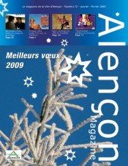 Le magazine de la Ville d'Alençon - Numéro 72 - janvier - février 2009