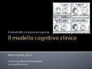 Il modello cognitivo ABC - Marco Vicentini