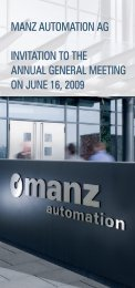 german (PDF file, 0.82 MB) - Manz