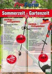 Sommerzeit - Gartenzeit - bei www.schain-echtz.de