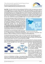 """""""Zukunftsorientierte regionale Vernetzungsstrukturen für chronisch ..."""