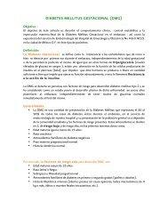 DIABETES MELLITUS GESTACIONAL (DMG) - Edumed IMSS