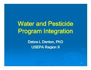 Pesticides, 303(d) - WSU Pesticide Safety Education Program