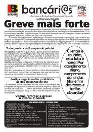 greve 04/10 - Sindicato dos Bancários do Maranhão