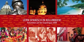 LERN SPANISCH IN KOLUMBIEN! - Embajada de Colombia
