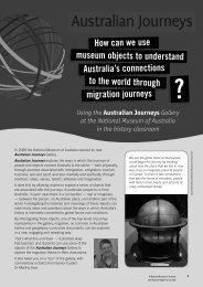 Australian Journeys - National Museum of Australia