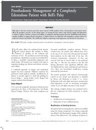 Prosthodontic Management of a Completely Edentulous ... - IJMD
