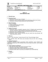 Modul III - Analis Kimia - Universitas Islam Indonesia