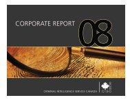 Corporate Report 2008