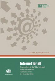 Untitled - Internet Governance Forum