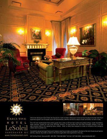 Factsheet - Executive Hotels and Resorts
