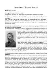 Intervista a Giovanni Pascoli - I.T.I.S.