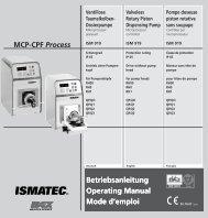 Betriebsanleitung Operating Manual Mode d ... - Bennett Scientific