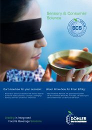 Sensory & Consumer Science - ESOMAR Market Research Directory
