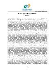 ACORDO COLETIVO DE TRABALHO - 2009/2011- 1/35 - Sindpd