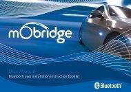 mObridge Bluetooth User Manual