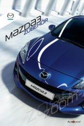 Mazda3 Accessories 2011 - Mazda AutoLand