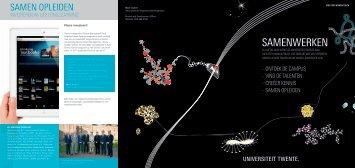Samenwerken - Universiteit Twente