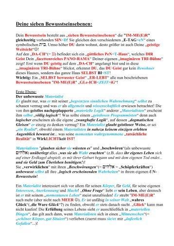 Deine sieben Bewusstseinsebenen.pdf - Key of Life