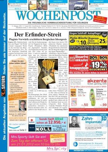 Solingen West 03-12 - Wochenpost