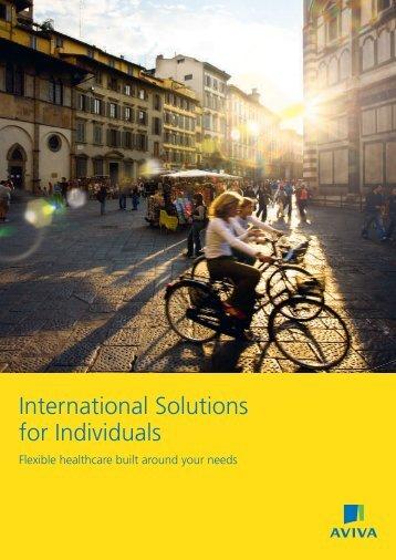 International Brochure - Irish Health Insurance