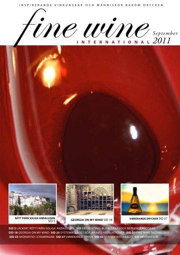 Finewine nr3 (sv) - Fine wine magazine