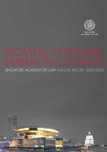 Singapore Academy of Law Annual Report 2005/2006